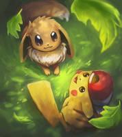 Pokemon Let's Go! by Foxeaf
