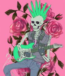Guitar by Foxeaf