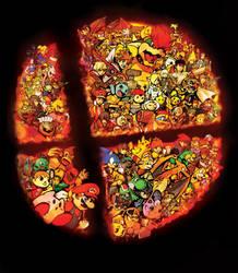 Super Smash Bros Ultimate by Foxeaf