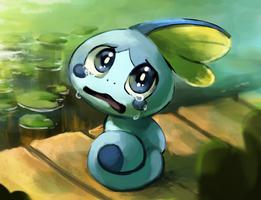 Sobble Sobbing by Foxeaf
