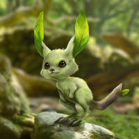 Fakemon starter - Skippee - 'Realistic'
