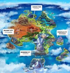 Pokemon Region: Straya