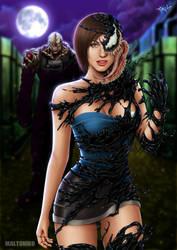 Jill Valentine crossover Venom