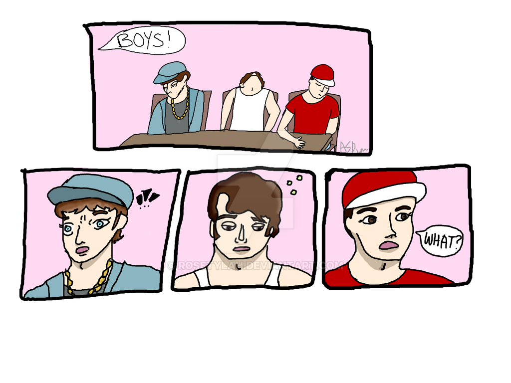 Beastie Boys Comic by rosetylah