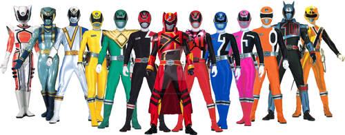 All Spd Rangers / Dekarangers