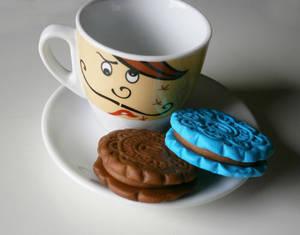 Fimo Biscuit Pendants