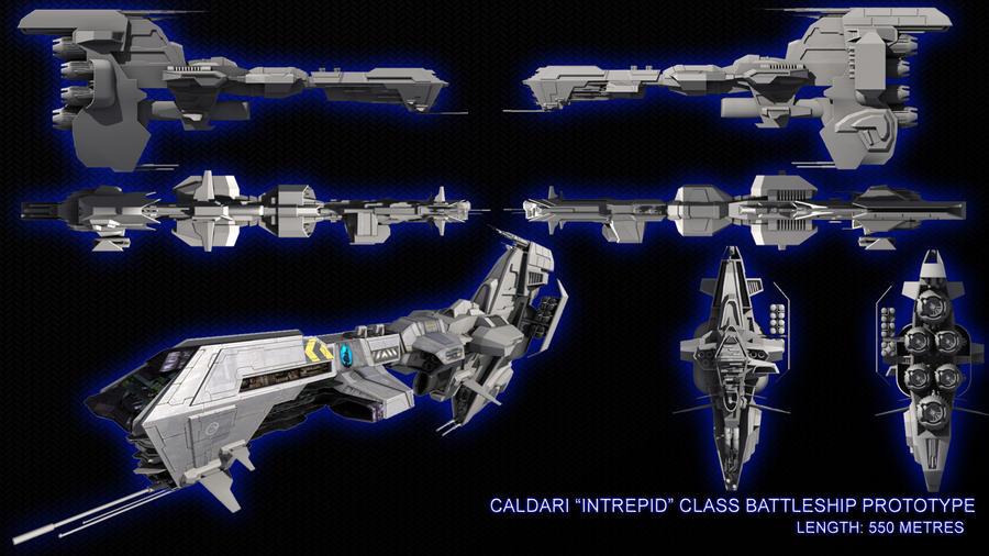 Intrepid Class Battleship by SFM-Hobb3s