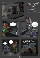 Judy and Nick shorts-cheers by Happy-Dino