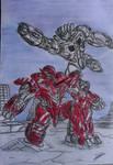 Transformers Battle Machine cover #22