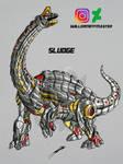 Sludge Transformers Battle Machine