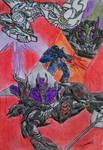 Megatronus Prime (The Fallen) VS Zeta Prime by GUILLERMOTFMASTER
