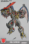 VOLCANICUS TRANSFORMERS BATTLE MACHINE by GUILLERMOTFMASTER