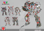 SUPERION 2.0 TRANSFORMERS BATTLE MACHINE by GUILLERMOTFMASTER