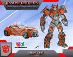 Buster (OC) Transformers The New Generation by GUILLERMOTFMASTER