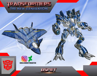 Ospry (OC) Transformers The New Generation by GUILLERMOTFMASTER