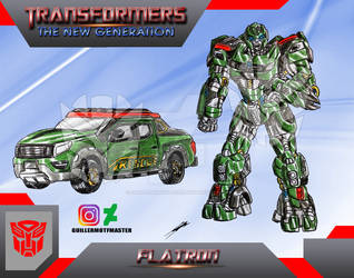 Flatron (OC) Transformers The New Generation by GUILLERMOTFMASTER