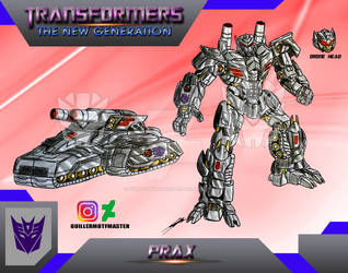 Prax (OC) Transformers The New Generation by GUILLERMOTFMASTER