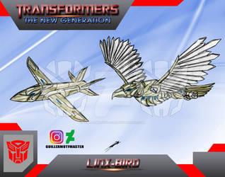 Linx-bird (OC) Transformers The New Generation by GUILLERMOTFMASTER