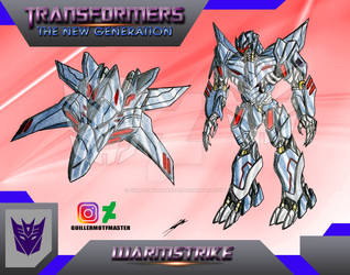 Warmstrike (OC) Transformers The New Generation by GUILLERMOTFMASTER