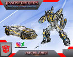 Bumblebee Transformers The New Generation by GUILLERMOTFMASTER