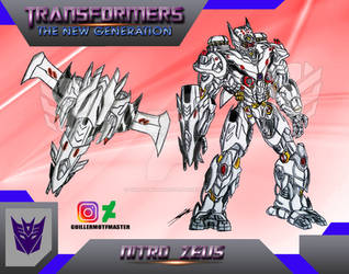 Nitro Zeus Transformers The New Generation by GUILLERMOTFMASTER