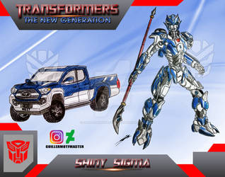 Shiny Sigma (OC) Transformers The New Generation by GUILLERMOTFMASTER