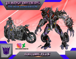 Motorcycle (OC) Transformers The New Generation by GUILLERMOTFMASTER
