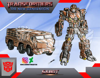 Sabot (OC) Transformers The New Generation by GUILLERMOTFMASTER