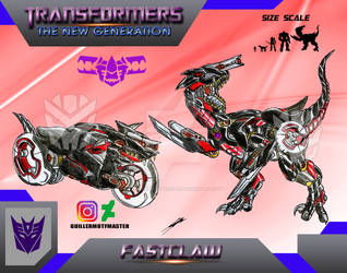 Fastclaw (OC) Transformers The New Generation by GUILLERMOTFMASTER
