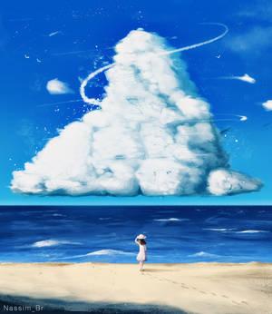 Beach cloud