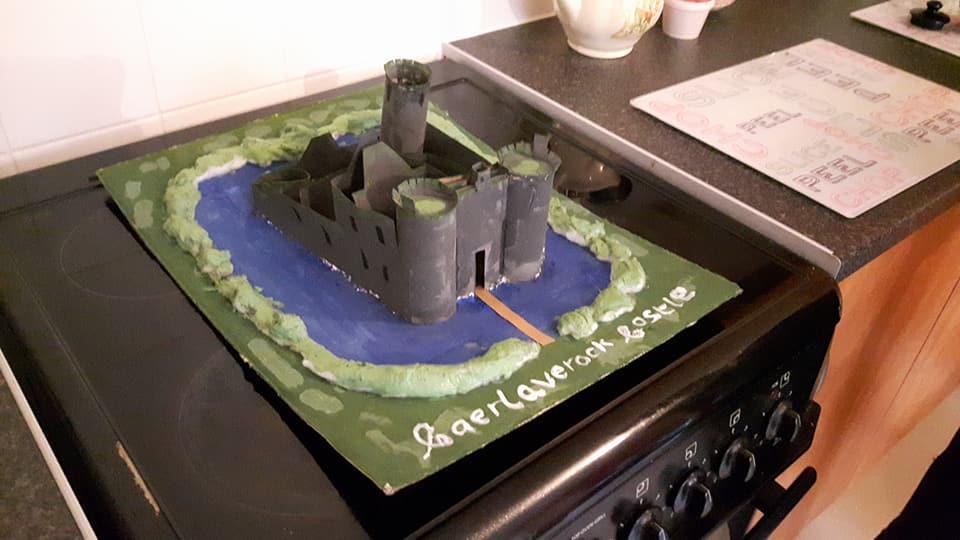 Caelaverock Castle Model by Harbluia