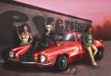 Everstreets - Fast Getaway by Ammosart