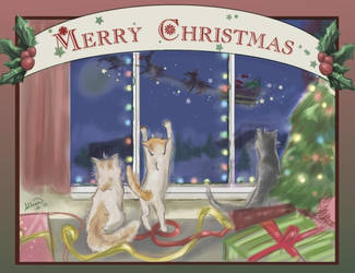 Merry Christmas 2010 by Ammosart
