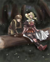 Radiata Stories - Tranquility by Ammosart