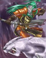 Kagenin the Hunter by Ammosart
