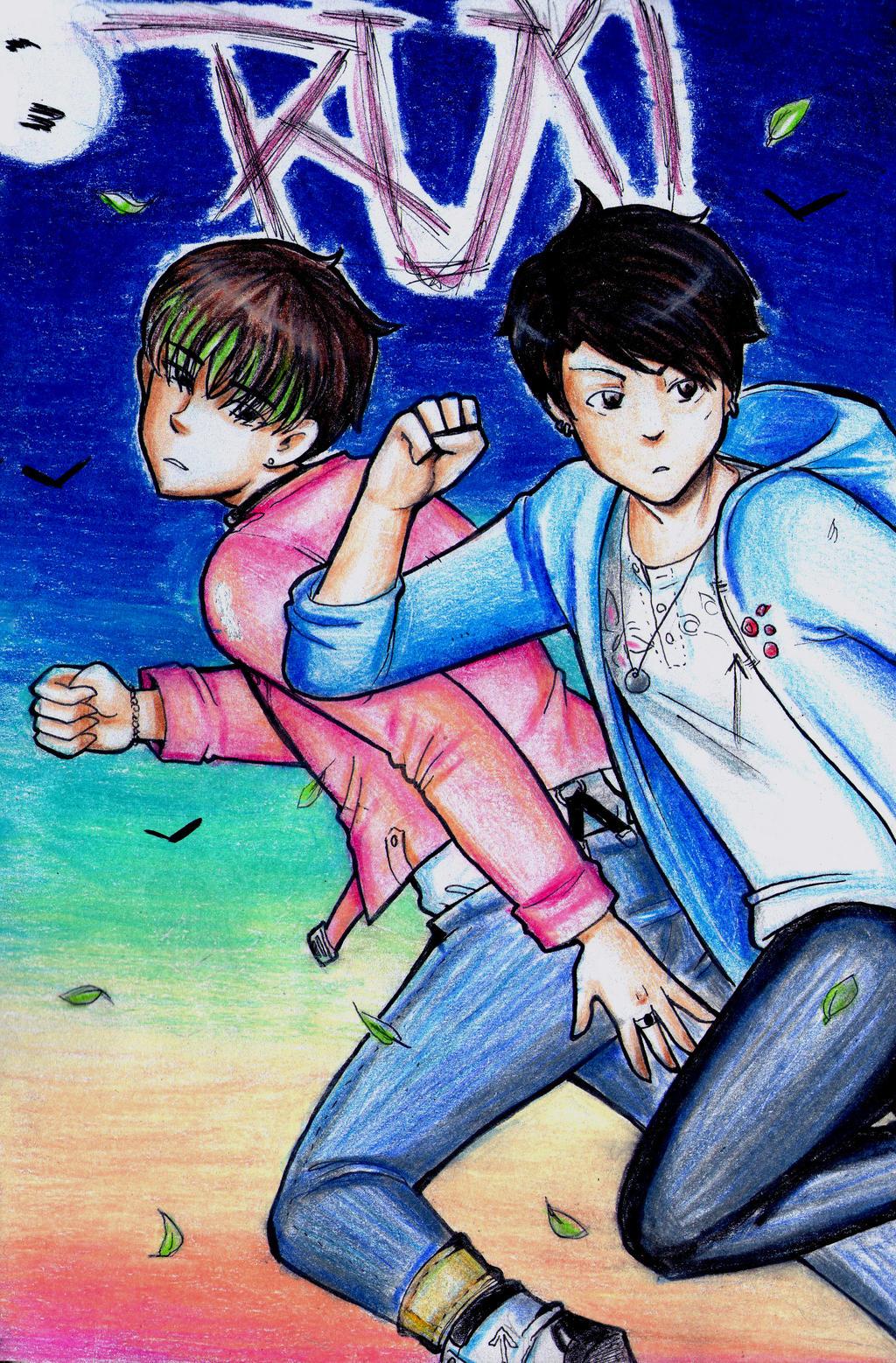 Anime Bts Run