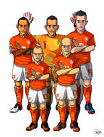 [2014 World cup Edition] B team : Netherlands