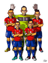 [2014 World cup Edition] B team : Chile