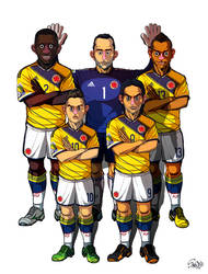 [2014 World cup Edition] C team : Colombia