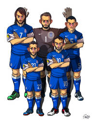 [2014 World cup Edition] C team : Greece