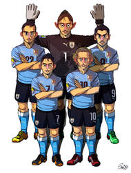 [2014 World cup Edition] D team : Uruguay