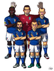 [2014 World cup Edition] D team : Italy