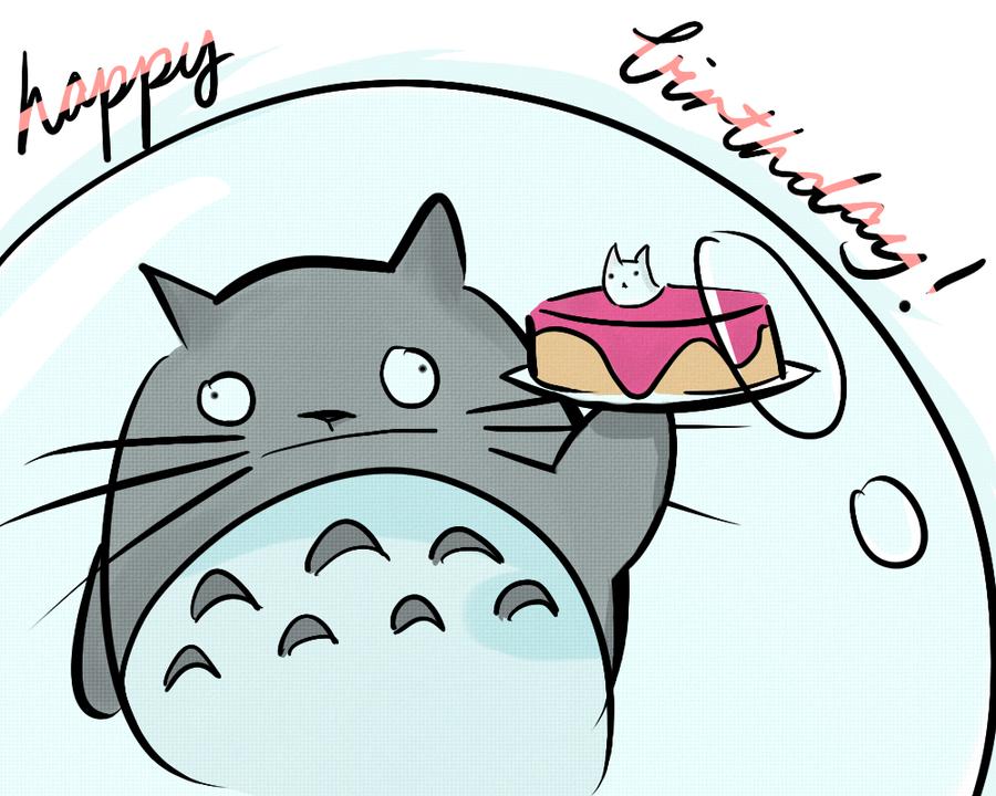 ¡¡¡¡¡¡FELICIDADES TOTORO!!!!!! 29/9/12 Happy_birthday___totoro_by_animeaddict4eva-d4zbwu0