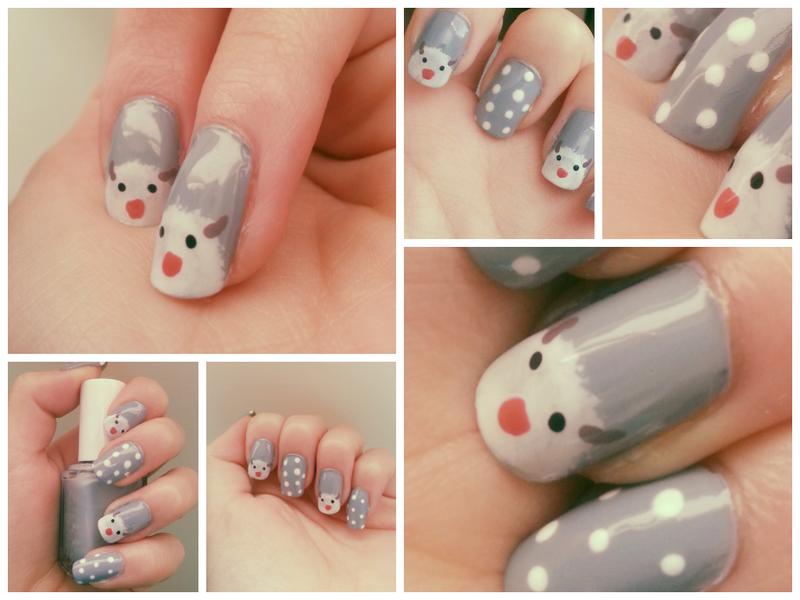 Gamer nails on geek nails deviantart ffishy21 0 1 poro nail art by quintaru prinsesfo Images