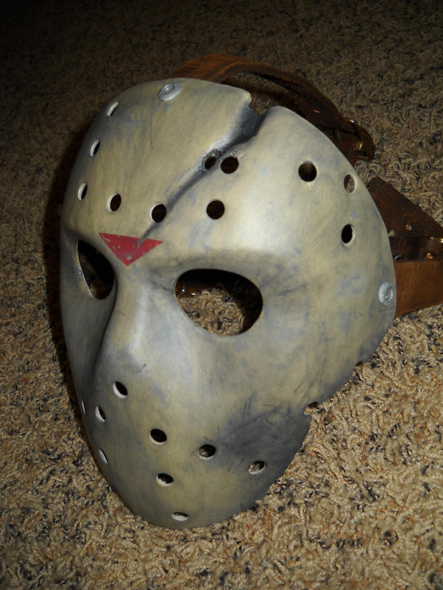 Jason X hockey mask by KillerMcQueen on DeviantArt