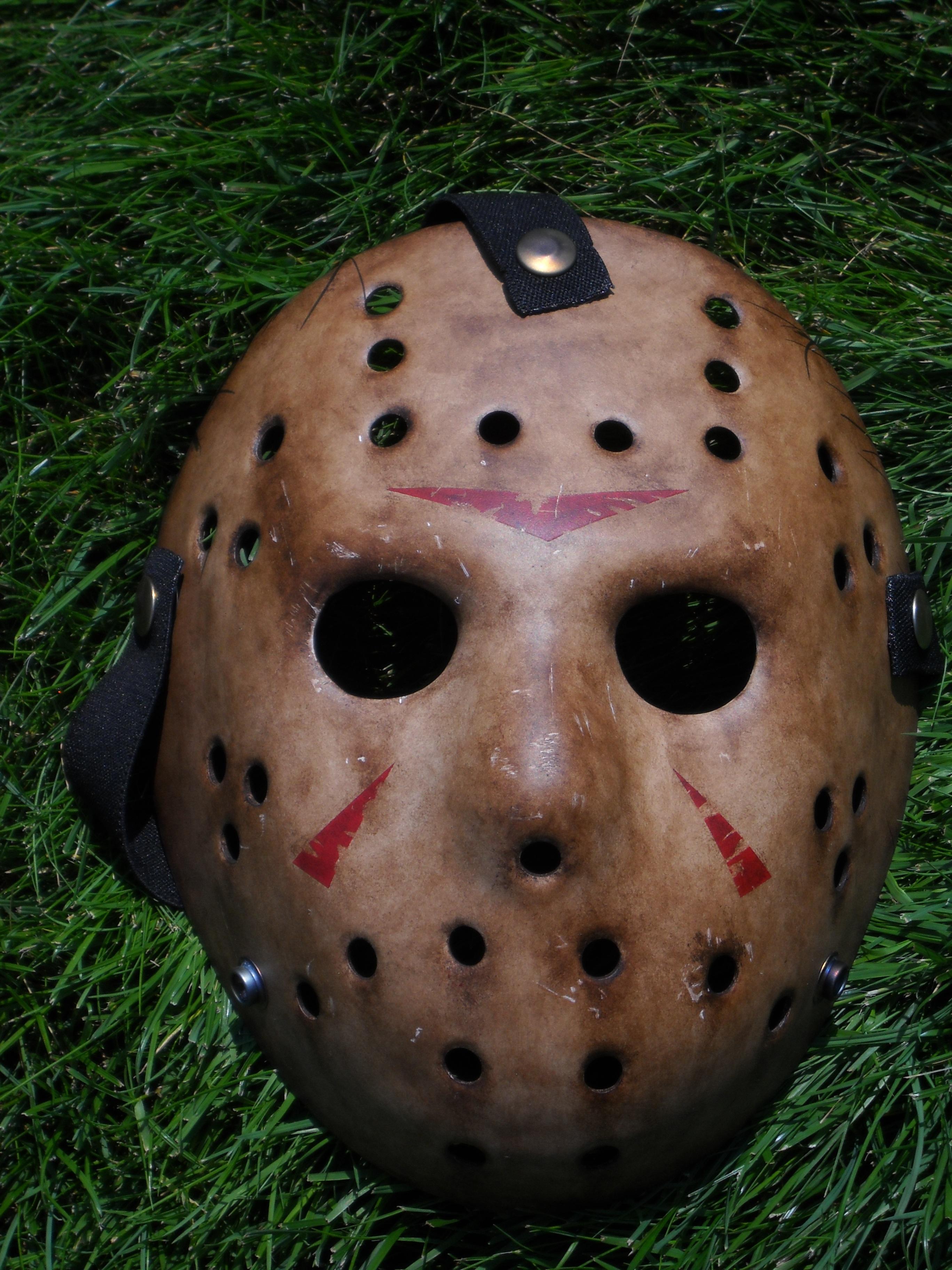 Jason Voorhees Remake Mask By KillerMcQueen