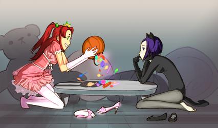 Starfire's stash by momijigirl