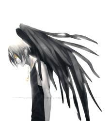 Dark Wings: Teal by momijigirl