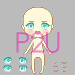 Pixel Doll Base (150 x 150) by naoadopt