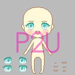 Pixel Doll Base (150 x 150) by naoyee